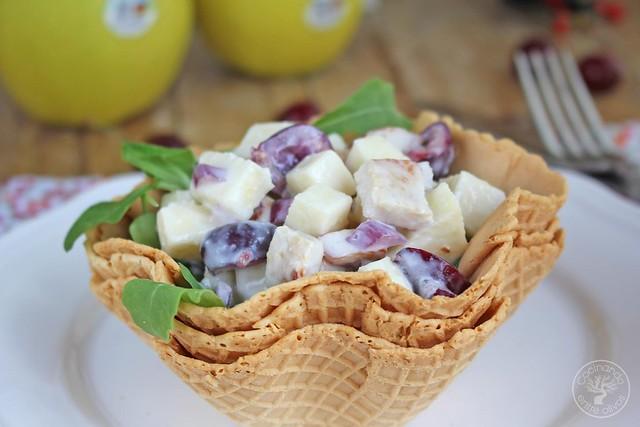 Ensalada de pavo, manzana y cerezas (12)