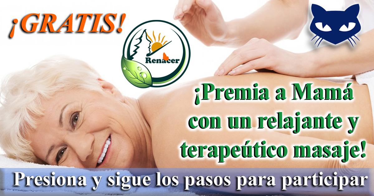 Lee el articulo completo Premia a Mama con un relajante y terapeutico masaje en su dia!