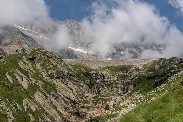 Anello delle dighe della Valle Antrona -  Sbarramento della bDiga di Camposecco